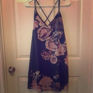 Shimmery Flower Sundress
